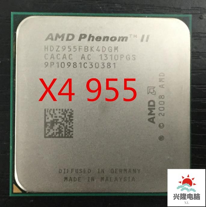 955 Processor Cache-Socket AM3 Phenom-Ii Quad-Core X4 125W 6MB 955x4 Cpu Scattered-Pieces