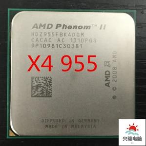 Phenom ii x4 955 X4 955 Processor Quad-Core 3.2GHz 6MB L3 125W Cache Socket AM3 scattered pieces cpu