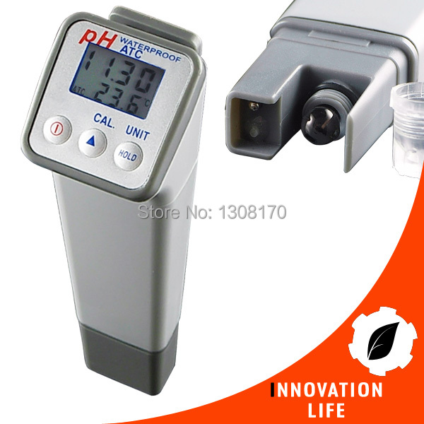 Waterproof Digital PH Meter Temperature High Accuracy +/-0.05PH with Replaceable Electrode Professional Water Quality Tester digital indoor air quality carbon dioxide meter temperature rh humidity twa stel display 99 points made in taiwan co2 monitor