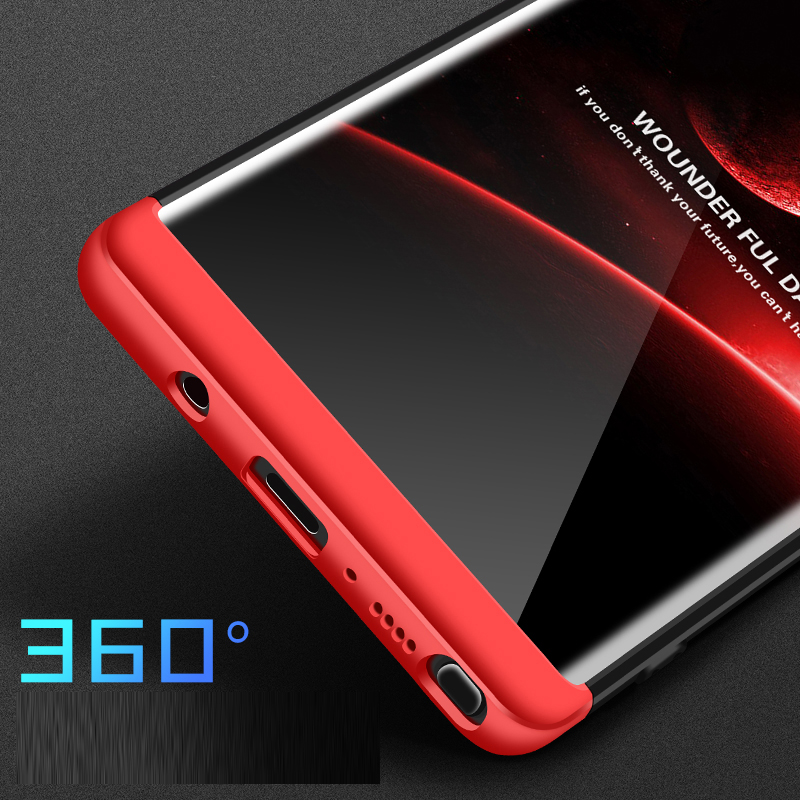 DATTAP Phone Case For Galaxy Note 8 Case 360 Full Protective Shell Hard PC Armor Back Cover For Samsung Galaxy Note 8 Note8 Case (6)