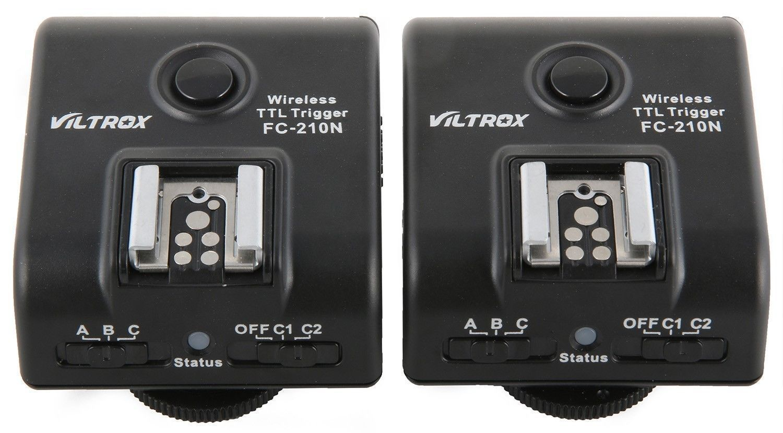 Viltrox FC-210N i-TTL Wireless 2.4G Transceiver Flash Trigger for Nikon 1/8000s кримпер rexant 8p8c ht 210n tl 210n 12 3451