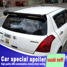 2005-2015 high quality ABS material For suzuki swift style spoiler for big High hardness spoilers by primer or DIY color paint new design for toyota camry 2018 high quality and hardness abs material spoiler by primer or diy color paint camry spoilers