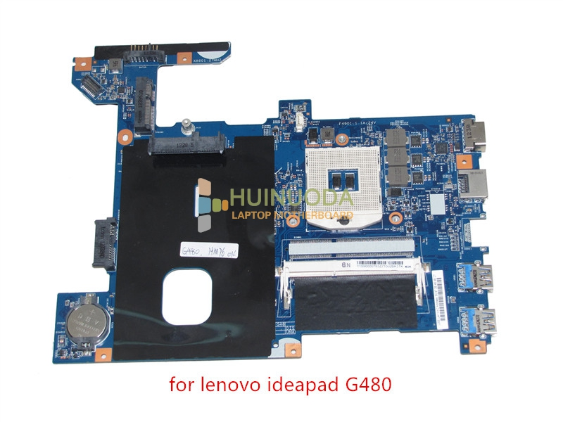 NOKOTION 11S90000783 48.4SG06.011 motherboard for lenovo G480 14'' inch laptop main board HM77 HD4000 DDR3 one memory slot 04y1168 motherboard for lenovo thinkpad edge e430 laptop main board qile1 la 8131p hd4000 graphics 14 ddr3