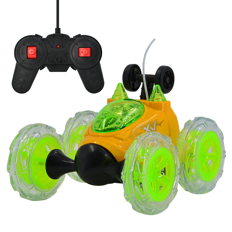 2019 Mini RC Car Remote Control Toy Stunt Car Monster Truck Radio Electric Dancing Drift Model Rotating Wheel Vehicle Motor Toys radio-controlled car