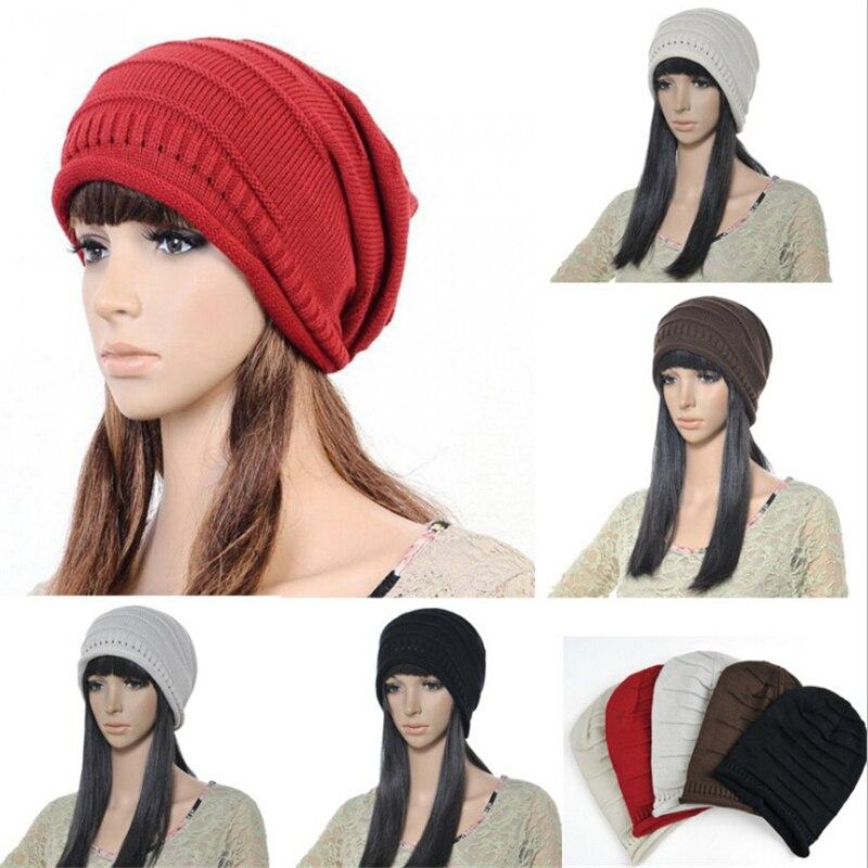 ᐂNueva moda hombres y mujeres de invierno que hacen punto caliente ...
