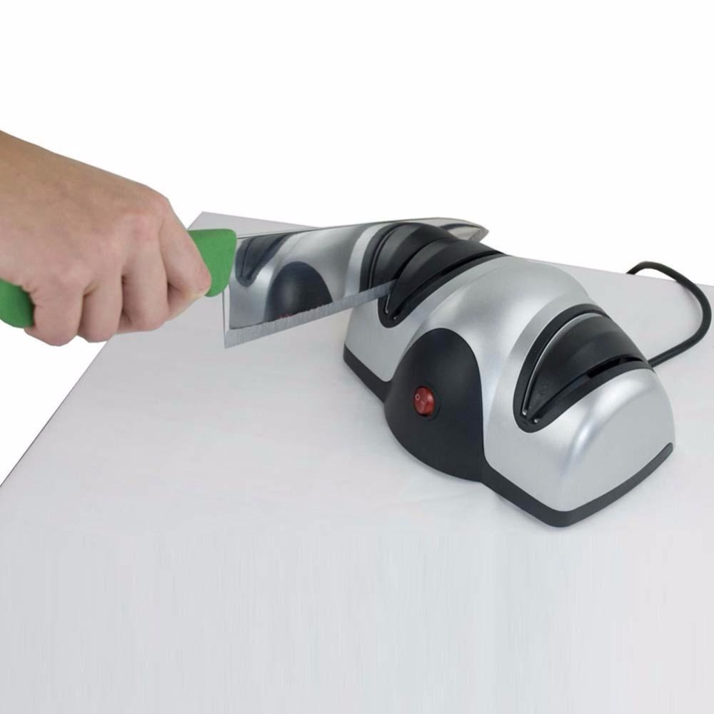 Professional Kitchen Razor Sharp Pro Electric 2 Stage font b Knife b font Sharpener