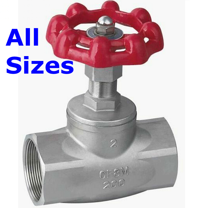 цены  1/2I DN15 Brand New High Quality Gate Valve Stainless Steel SUS SS 304 CF8M Heavy Duty