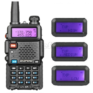 Image 4 - New BaoFeng UV 5R 8W Portable Two Way Radio Upgrade UV 5R Dual Band 128CH Pofung Walkie Talkie Ham CB Transceiver Communicator