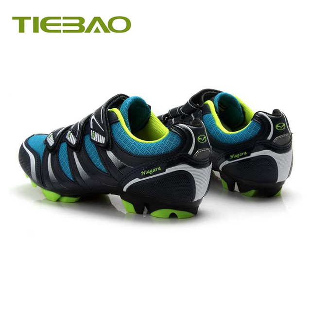 Tiebao profissional mtb ciclismo sapatos de corrida atlético ao ar livre sapatos de bicicleta auto-bloqueio spd cleated pedais tênis 2