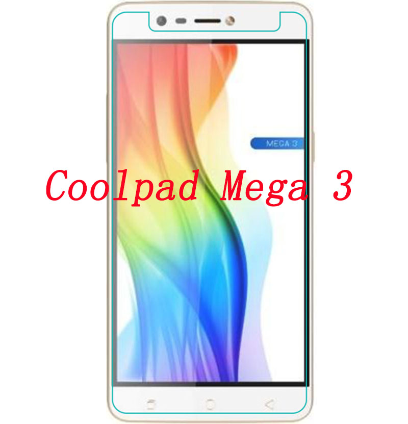US $2 57 14% OFF|Tempered Glass Film FOR Coolpad Mega 3 5 5