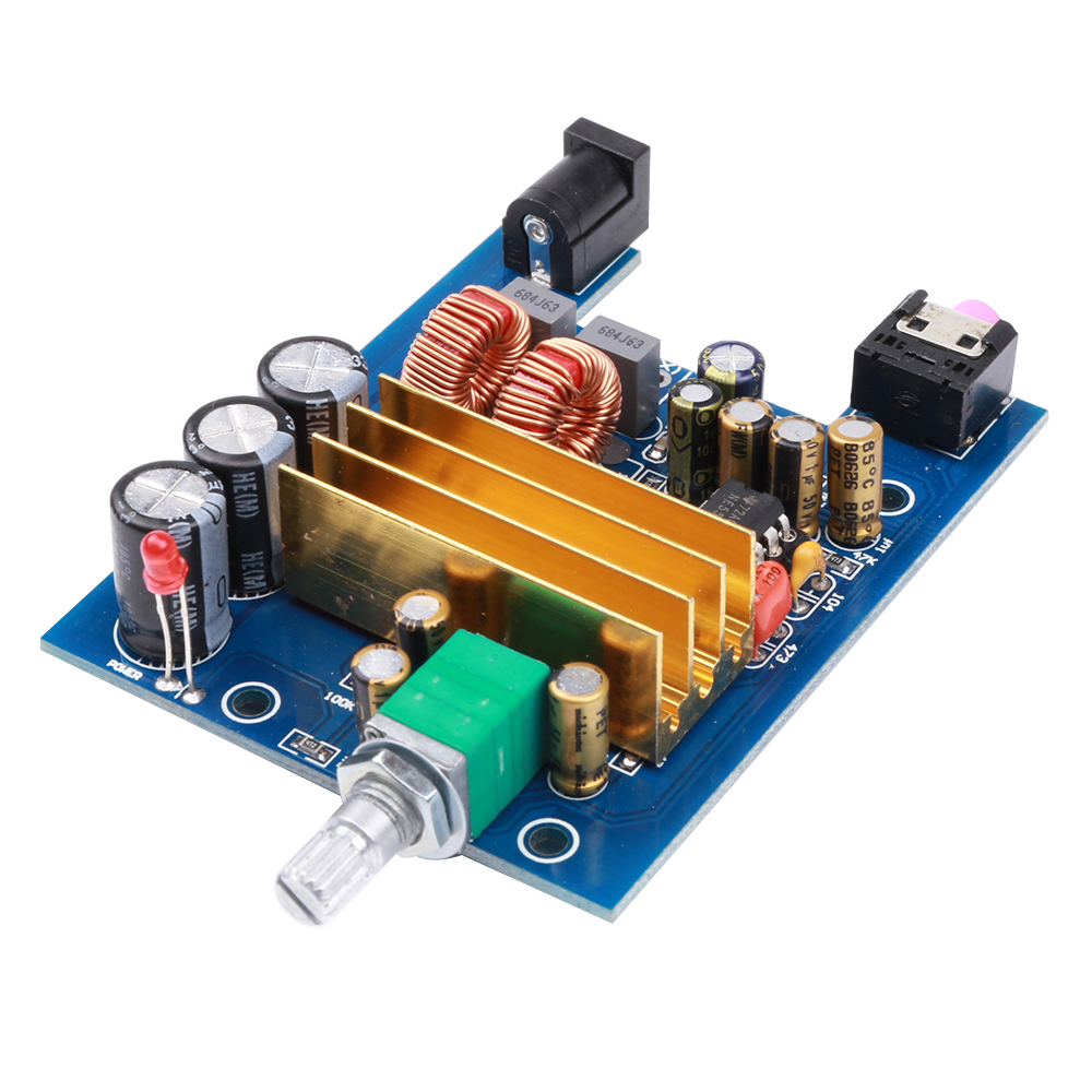 K. guss A8 TPA3116 D2 сабвуфер Усилители домашние доска Поддержка 100 Вт бас Выход