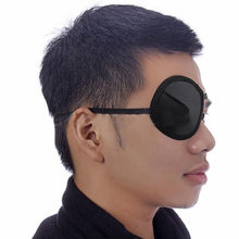 Monocular goggles Black Butler Ciel Phantomhive Cosplay Eye Patch Single-Eyed Pirate Eyepatch(China)