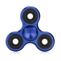 Wholesale Tri Spinner EDC Toys Triangular Hand Spinner Torqbar Metal Fidget Spinner Autism And ADHD Hand