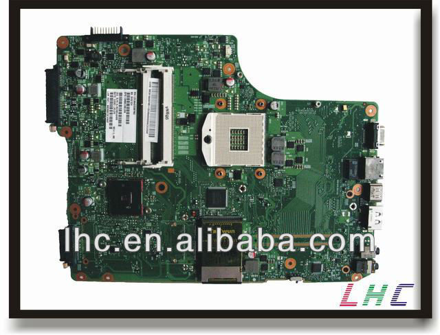 V000198150 for toshiba A505 motherboard INTEL HM55 6050A2338701-MB-A01 and 100% guarantee