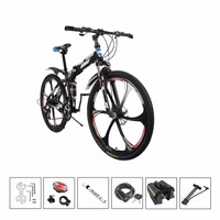 21 Speeds 26 Land Rover Paragraph Mountain Bike Aluminum Alloy Folding Variable Speed Bicycle Double Vibration