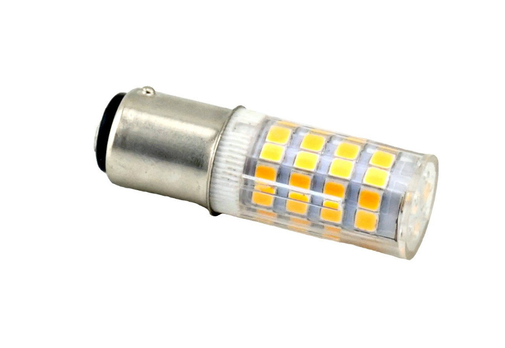 comprar bad de doble contacto de base de bayoneta bombillas led v w lm blanco caliente ttcs led bulbo de halgeno de