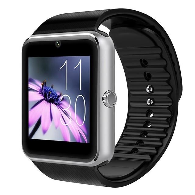 Gt08 bluetooth smart watch android gps à prova d' água mulheres relógio de pulso dos homens do esporte relógios digitais relógios eletrônicos inteligentes