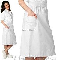 2018 Lab Coat Medical Suit Women's Summer And Autumn Medical Nursing Scrub Skirt Uniform,nursing Office Working free Shipping
