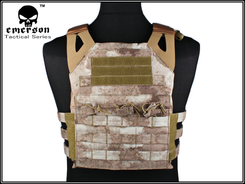 EMERSON JPC Vest Jumper carrier Tactical Military army Airsoft combat Gear EM7344C A-TACS emerson gear lbt6094a style vest with pouches airsoft painball military army combat gear em7440g at fg aor1 aor2 kh cb mr hld