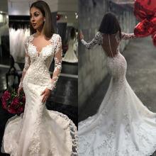 Новинка 2019 прозрачные Свадебные платья с круглым вырезом и