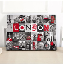 5D DIY diamond painting landscape London Big Ben,Paris Tower Home Decoration Diamond Embroidery Mosaic Needlework Christmas Gift(China)