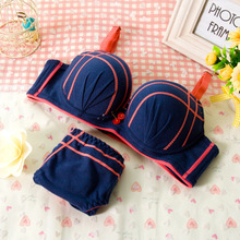 Super Push Up Bra For Small Breast 2015 Sexy Lace Push Up Bra Sets Super Push Up Bra Cup A Women Push Up Bra Lace Brief Sets