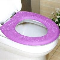 Сиденье Водонепроницаемый EVAFour сезона окружающей среды комфорт сплошной Цвет вискоза ведро туалет Тепло протектор Аксессуары для дома