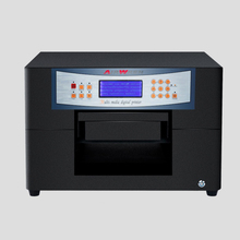 High resolution a4 size digital pvc card printer eco solvent printer for glass printing