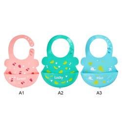 Новый Водонепроницаемый детские силиконовые нагрудники срыгивание одежда Дети Регулируемый передник для кормления цветной