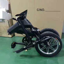 14inch portable Mini Electric Bike Folding For Adult with pedal