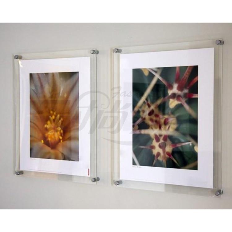 20 Unit Lot Wall Mounted A4 Acrylic Plexiglass Poster
