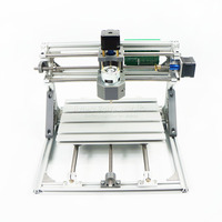 2418 Diy Mini CNC Engraving Machine Kits 3 Axis Acrylic Pcb PVC Milling Machine Wood Router