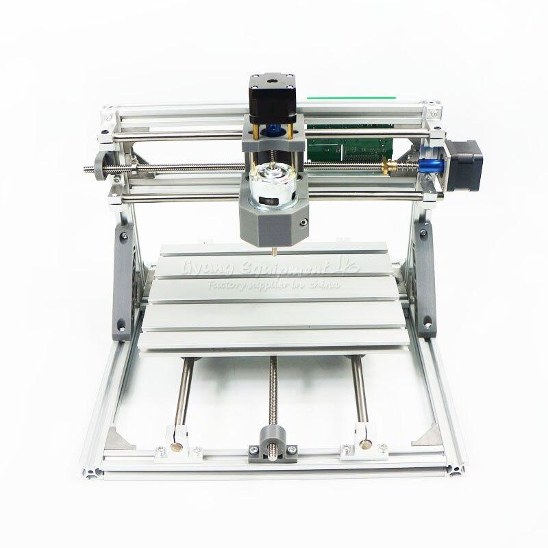 2418 Diy mini CNC Engraving Machine Kits 3 Axis Acrylic Pcb PVC Milling Machine Wood Router GRBL Control eur free tax cnc 6040z frame of engraving and milling machine for diy cnc router