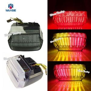 Luces traseras waase e-marked para motocicleta, luces traseras intermitentes, luces Led integradas para BMW R65 R80 R80R R80RT R90 R90S