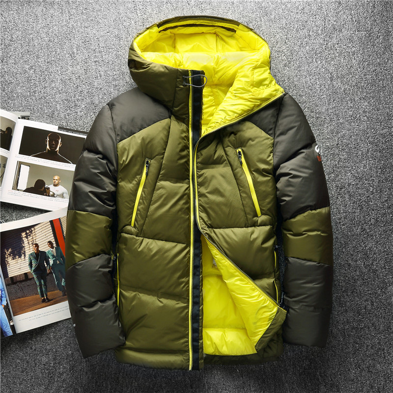 Down Jackets 2018 High Quality 90% White Duck Thick Down Jacket Men Coat Snow Parkas Male Warm Brand Clothing Winter Down Jacket Outerwear