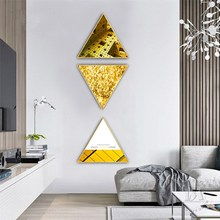 Nordic golden years INS style restaurant decoration painting  home mural kitchen Stair Hanging
