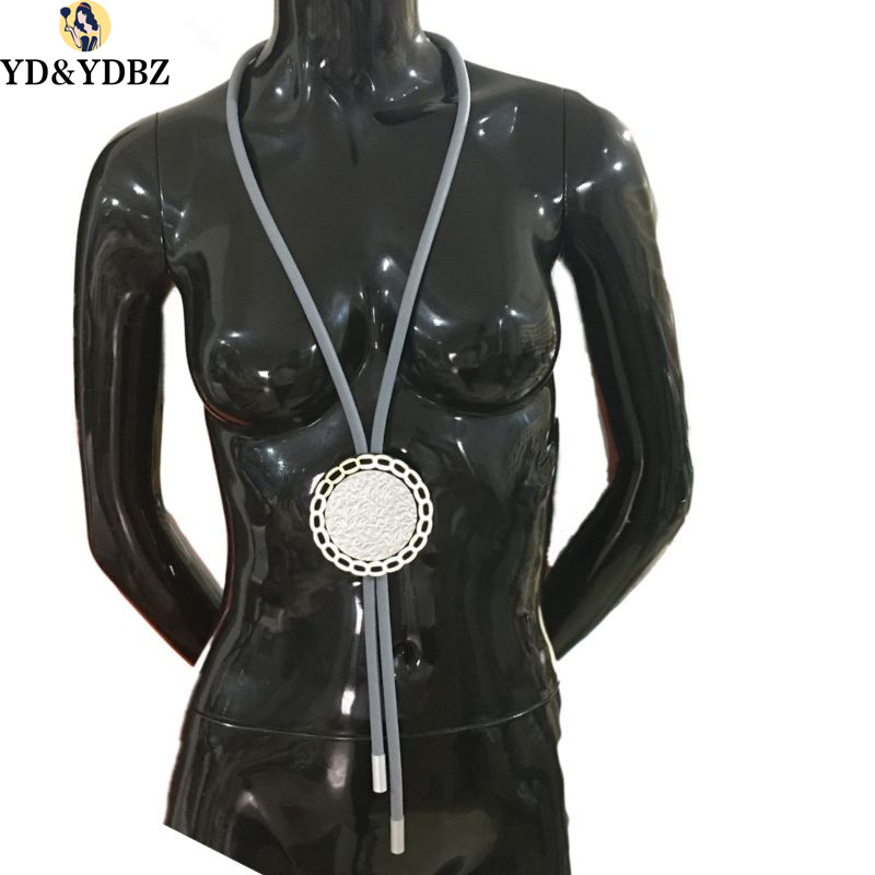 YD&YDBZ Glamour lLady is Lucky to Have a 130cm Necklace Handmade DIY Custom Soft Aluminum Foam For Party Trip Wear