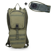 358f57ed2 Large Capacity Outdoor Sport 3L Water Bag Bladder Hydration Backpack Molle  Packs Set Military Tactical Hunting