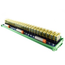 цена на Relay single-group module 24-way compatible NPN/PNP signal output PLC driver board control board