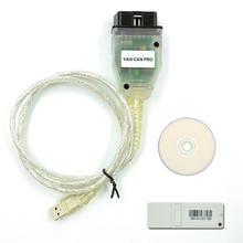 Profesional VAG puede PRO V5.5.1 con FTDI FT245RL Chip VCP OBD2 interfaz de diagnóstico soporte de Cable USB Bus UDS línea K