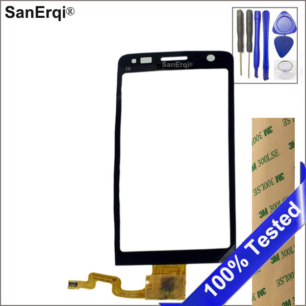 SanErqi Touch Screen For Nokia C6-01 Sensor Touch Screen Digitizer Front Glass With Tools Sticker