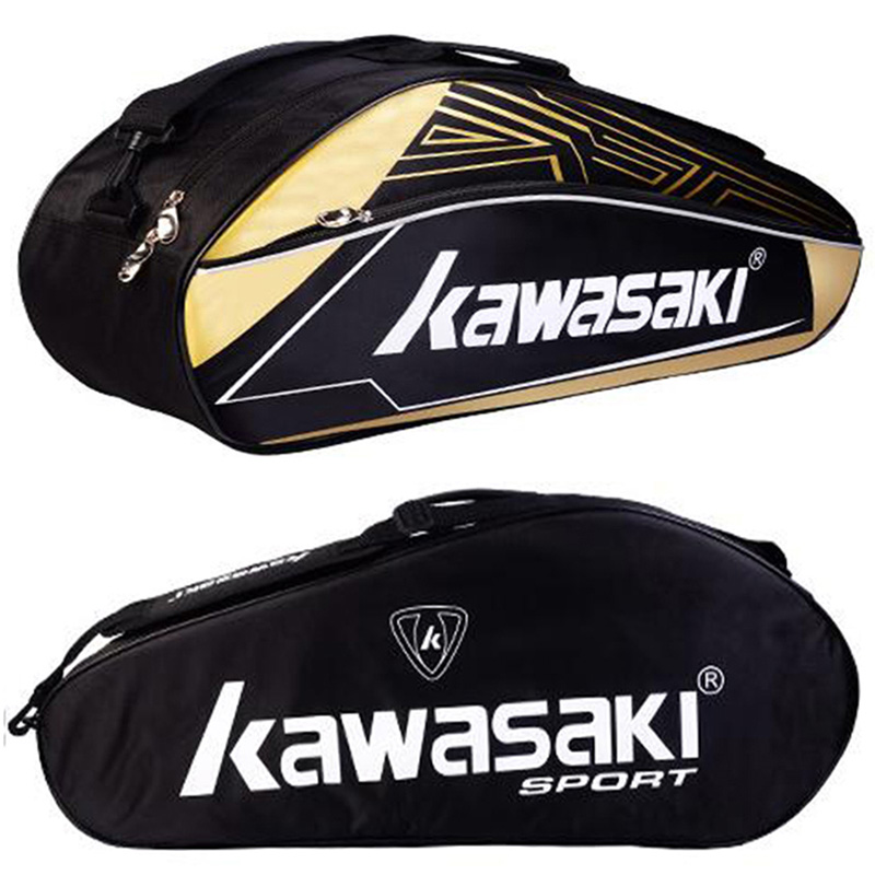 Kawasaki Badminton Racket Backpack Handbag Single Shoulder Sport Gym Outdoor Fitness Workout Tenis With Shoe Bag Men