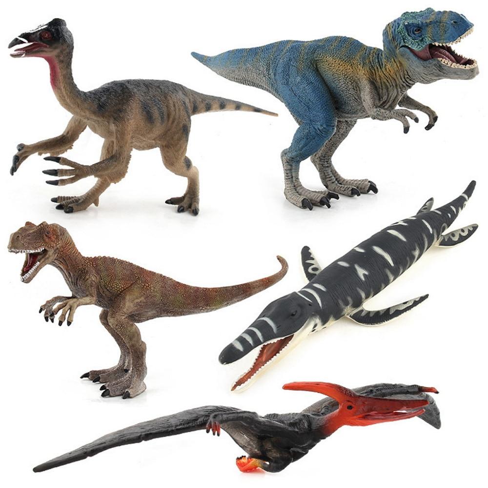 Dinosaur Toy Simulation Model Tyrannosaurus Animal Wing Dragon Sword Tooth Dragon Boy Gift Collection Biology Toys & Hobbies