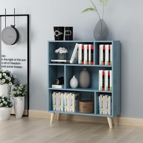 US $449.99 10% di SCONTO|Libreria Mobili Soggiorno Mobili Per La Casa  armadio scaffale basamento di libro mensola di legno libro cremagliera  moderno e ...