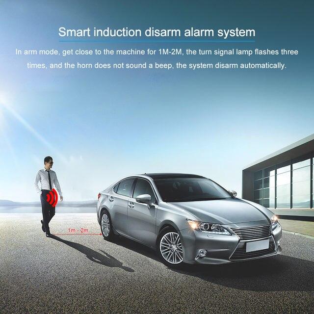 Online Shop Universal Auto Car Alarm Engine Start Stop Button Remote ...
