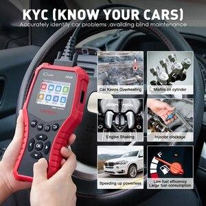 Image 4 - 起動 X431 CR3008 OBD2 自動車スキャナ OBDII コードリーダー診断ツールバッテリー電圧テストツール無料アップデート pk KW850