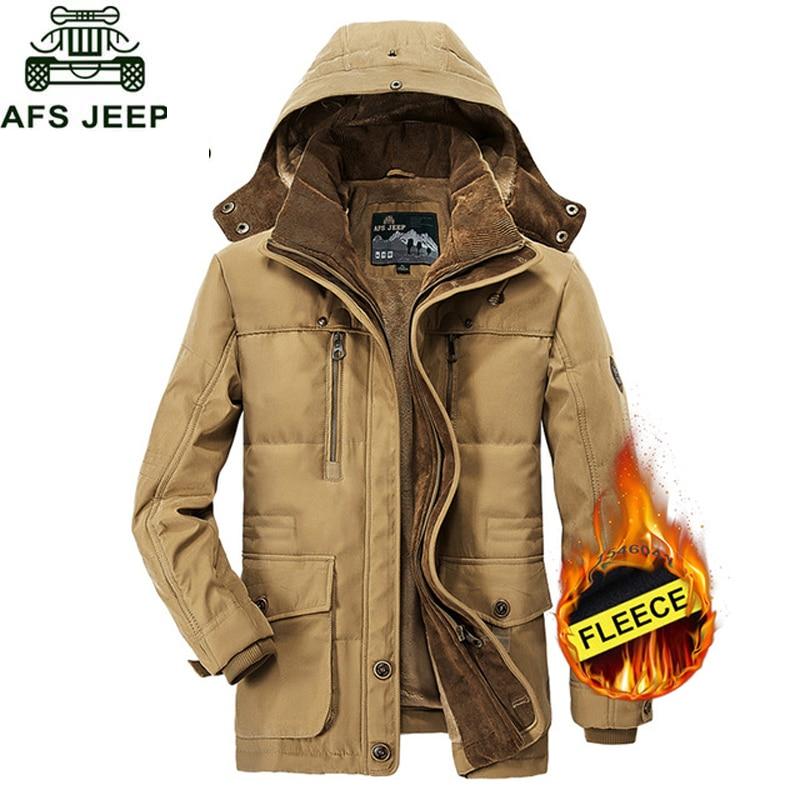 NaranjaSabor Winter Men s PU Leather Jackets Inner Fleece Warm Male Motorcycle Business Stand Collar Coats