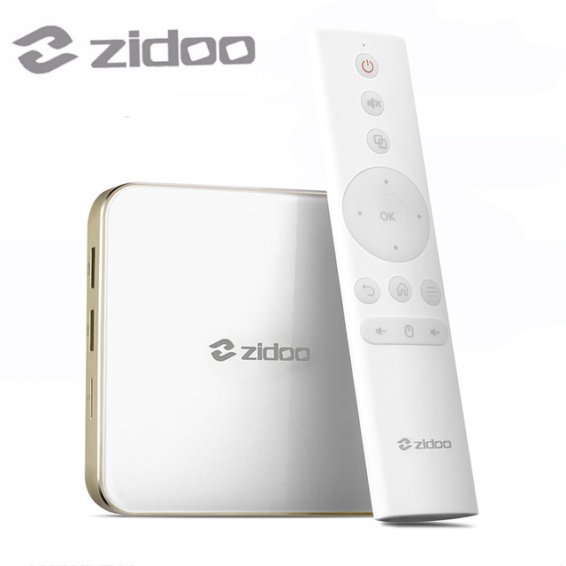 ZIDOO H6 PRO Android Nougat 4K 10Bit HDR TV Box Allwinner H6 DDR4 2GB eMMC 16GB ac WIFI 1000M LAN Dolby Digital DTS-HD zidoo h6 pro smart set top box 2gb ram 16gb rom android 7 1 2 4g 5 0g wifi 1000m gigabit lan bluetooth 4 1
