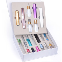 MUB 20 PCS Portable Travel Perfume Bottles Empty Perfume Multi Colors Atomizer Refill Bottle For Women