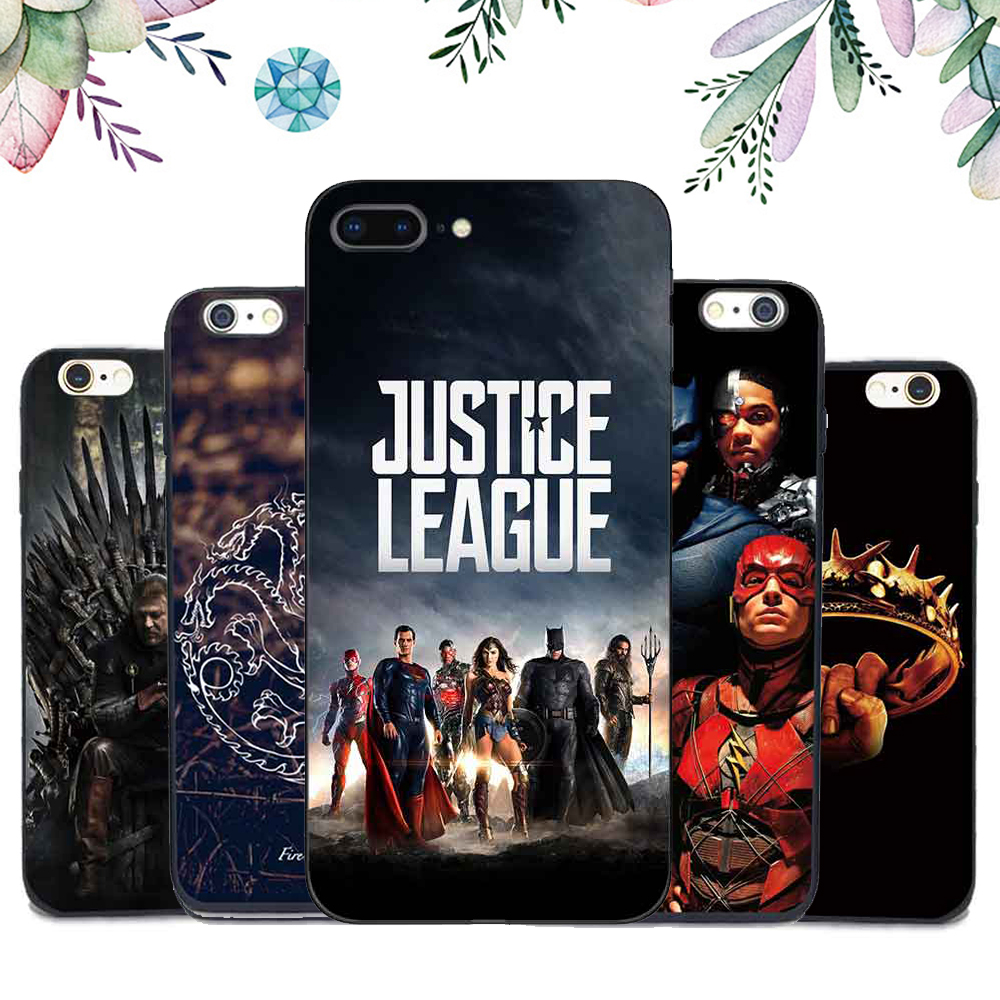 Hot Film Justice League Wonder Woman Soft TPU Clear Phone Cases For Huawei P8 P10 P9 Plus P8 Lite 2017 Silicone Phone Back Cover